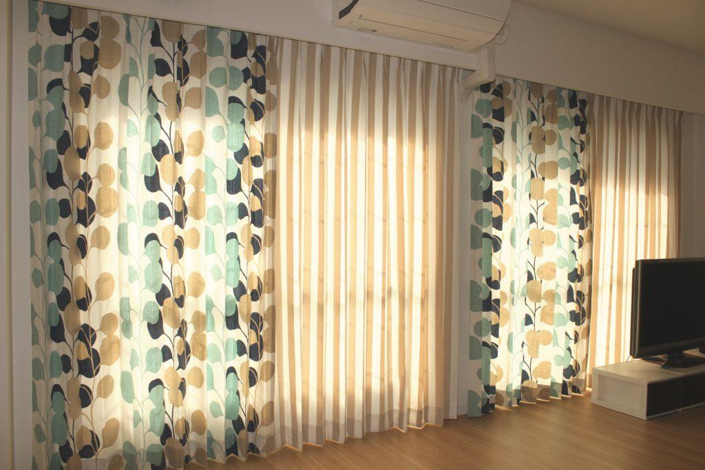 北欧モダンなカーテン