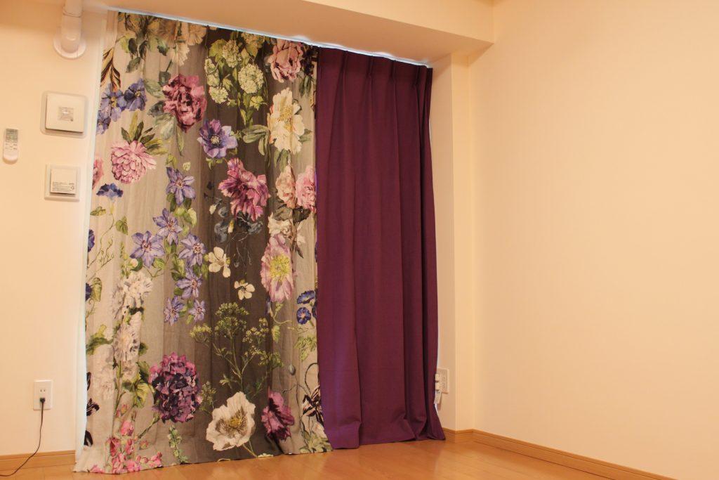 デザイナーズギルドのカーテン