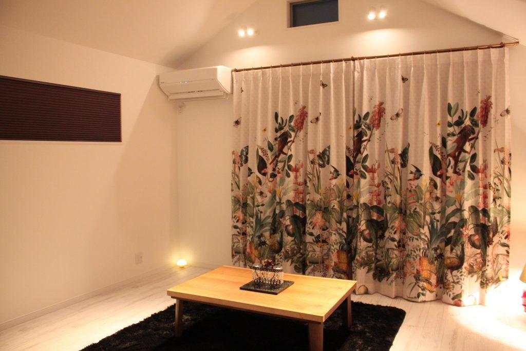 フィスバのカーテン