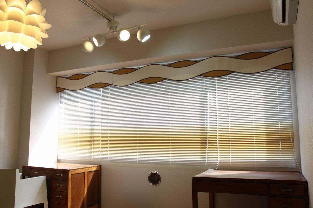 ミッドセンチュリーなカーテンのデザイン
