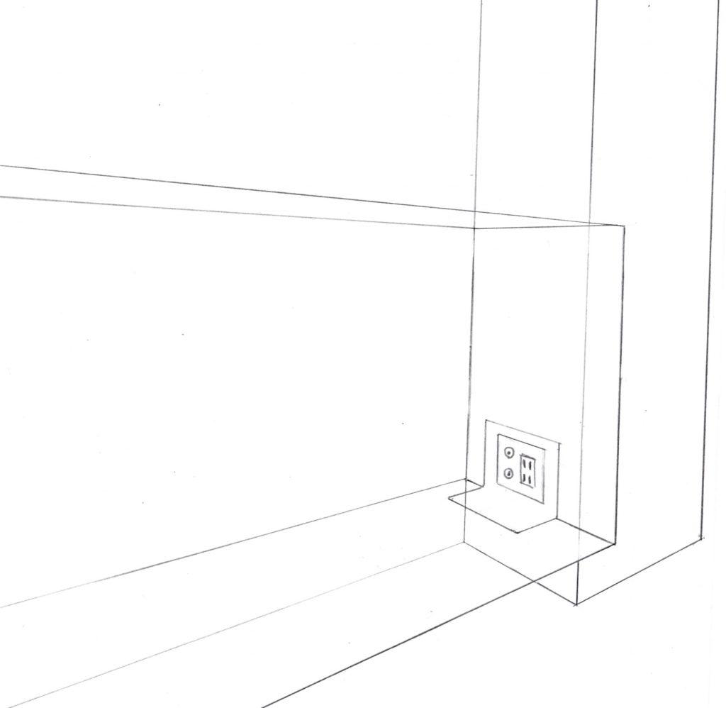 フローターテレビボード